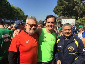 Riccardo Guglielmi con Domenico Paparella