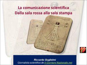 La comunicazione scientifica