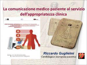 la comunicazione medico paziente al servizio della appropriatezza clinica