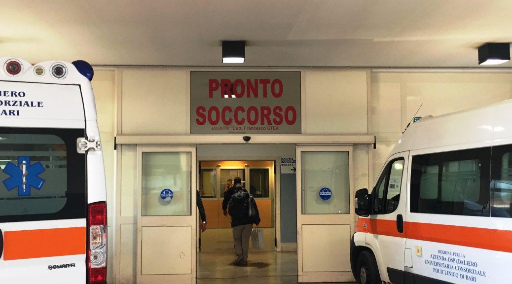 Pronto soccorso policlinico di Bari