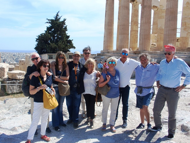 Atene, Acropoli: over 50 in gita