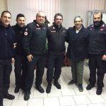 Carabinieri battaglione Staf medico e comandante  1