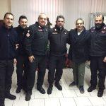 Carabinieri battaglione Staf medico e comandante