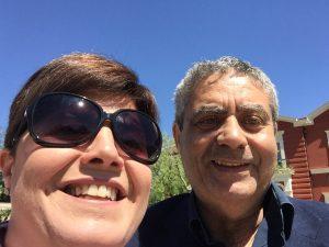 Selfy con Simona Ficarelli
