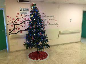 Natale al Nido e in Ostetricia
