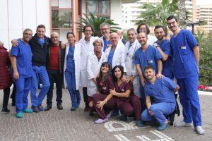 Team Cardiologia mater Dei Bari
