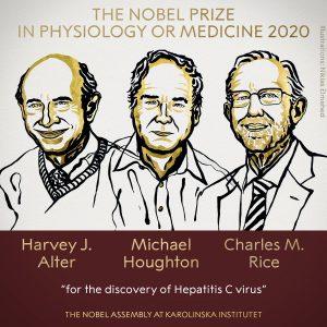 Nobel Medicina 2020
